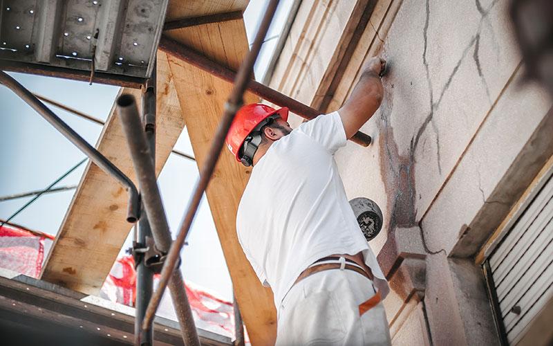 exterior building repairs